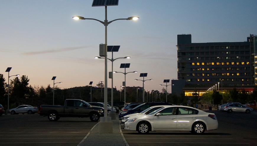 DynamoElectric Inc. - Parking Lot Lighting installation